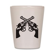 guns Shot Glass