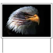 eagleflagright1 Yard Sign