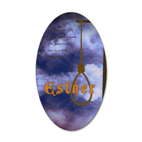 Esther Poster 35x21 Oval Wall Decal