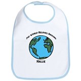Revolves around Hallie Bib
