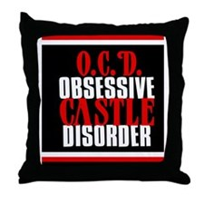 ocdcastlejournal Throw Pillow