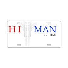 HitMan USA#1 Aluminum License Plate