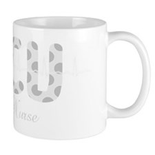 ICU Nurse QRS Grey DARKS Mug