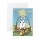 Easter Bunny Gifts Greeting Cards (Pk of 10)