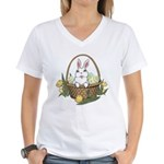 Easter Bunny Gifts Women's V-Neck T-Shirt