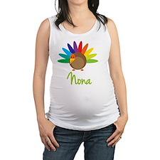 Nona-the-turkey Maternity Tank Top