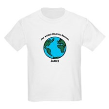 Revolves around Janice Kids T-Shirt