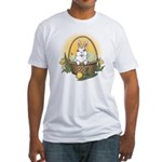 Easter Bunny Gifts Fitted T-Shirt