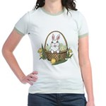 Easter Bunny Gifts Jr. Ringer T-Shirt