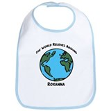 Revolves around Roxanna Bib