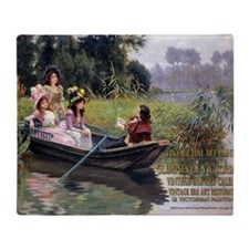 1 A COVER GIRARDET-ThePoet Throw Blanket