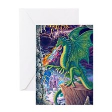 Dragons_Lair_16x20 Greeting Card