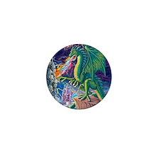 Dragons_Lair_16x20 Mini Button