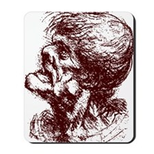grotesque man 2 Mousepad