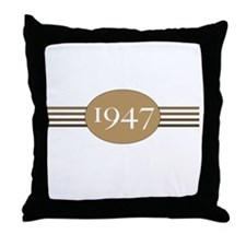 Authentic1947b Throw Pillow