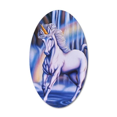Unicorn_Falls_16x20 35x21 Oval Wall Decal