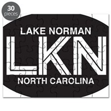 Lake Norman Oval Sticker Puzzle
