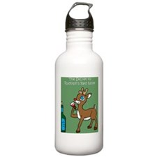 Rudolph Water Bottle