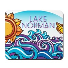 Lake Norman Waves  Sun Mousepad