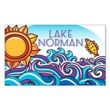 Lake Norman Waves  Sun Decal