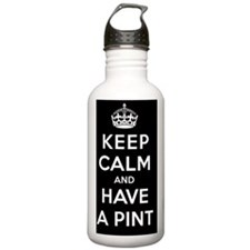 Keep Calm and Carry a  Water Bottle