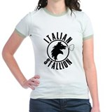 The Italian Stallion (Black) Tee-Shirt