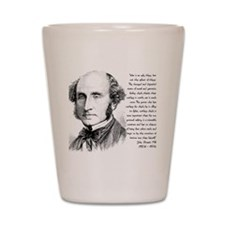 John Stuart Mill Shot Glass