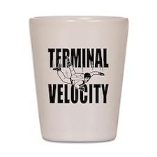 terminalvelocity Shot Glass