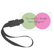 GoogleVenn Luggage Tag