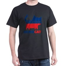 DEMOCAT Yard Sign T-Shirt
