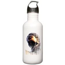 buddah grundge copy Water Bottle