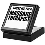 Trust Me, Im A Massage Therapist Keepsake Box