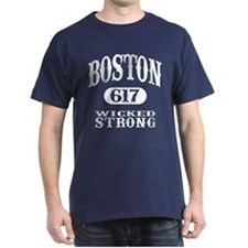 Boston 617 - Wicked Strong T-Shirt