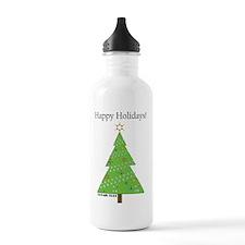 CHEMISTREE CARD white Water Bottle