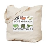 Love Animals Tote Bag