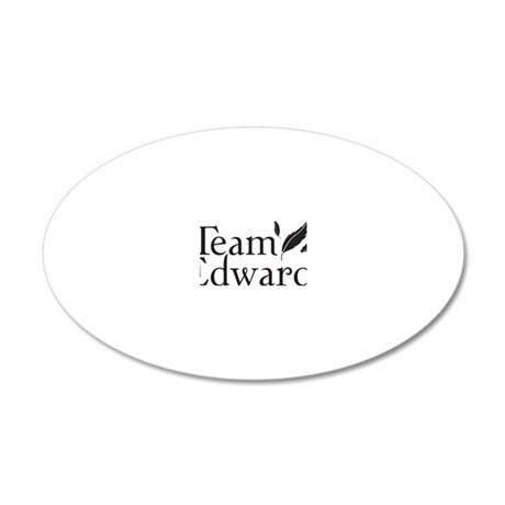 teamedfeatherk 20x12 Oval Wall Decal