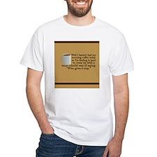 morningcoffeejournal White T-Shirt