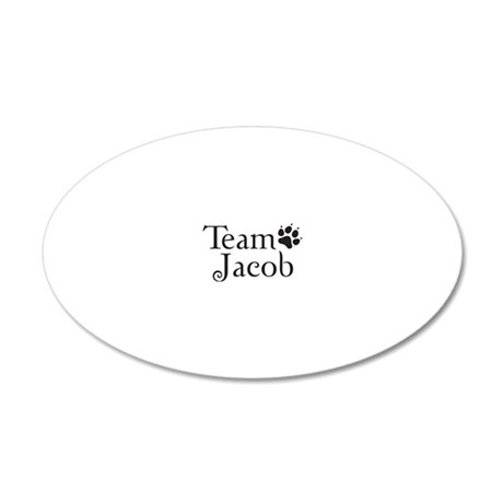 teamjack 20x12 Oval Wall Decal