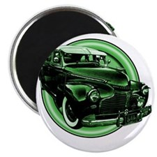 low and slow green 10x10_apparel Magnet