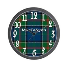 MacFadyen Clan Wall Clock