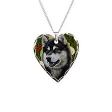 Seasonal Malamute Necklace