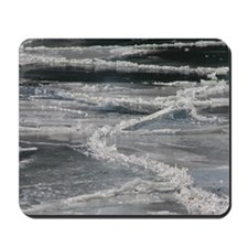 Cracked Ice Photograph Mousepad