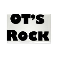 OTs Rock Rectangle Magnet