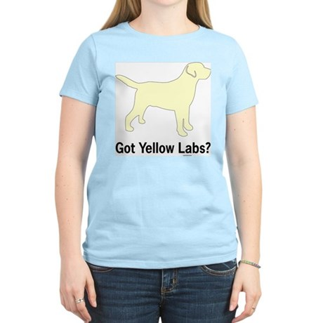 Got Yellow Labs II Women's Light T-Shirt