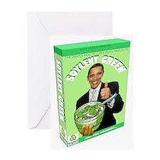 Obamacare Soylent Green Greeting Card