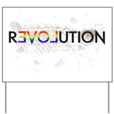 revolution3 Yard Sign
