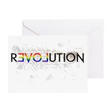 revolution3 Greeting Card