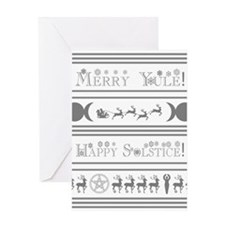 Yule Card Greeting Cards
