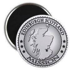 Edinburgh Scotland LDS Mission Magnet