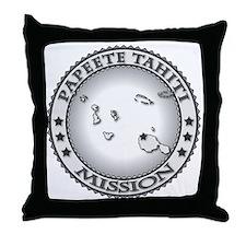 Papeete Tahiti LDS Mission Throw Pillow